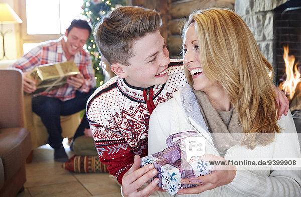 Geschenk,Weihnachten,geben