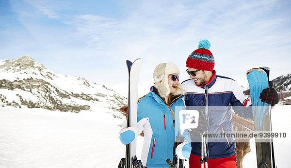 Zusammenhalt,Ski,halten