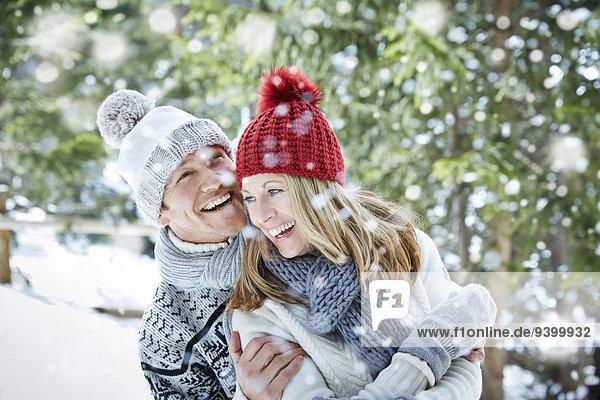 Zusammenhalt,spielen,Schnee