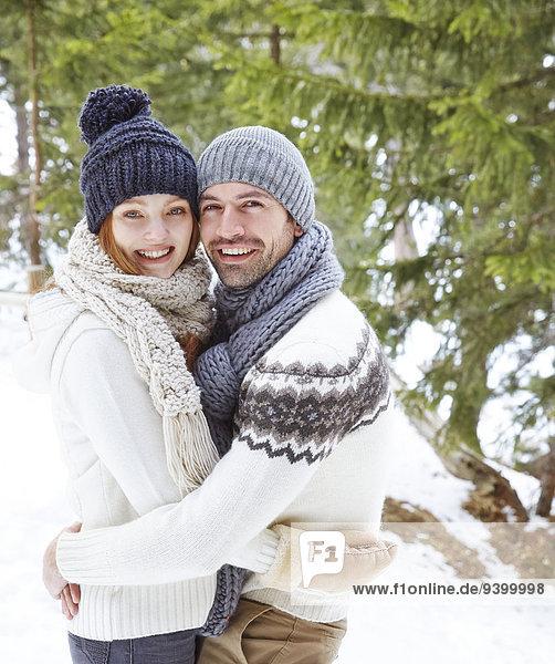 umarmen,Schnee