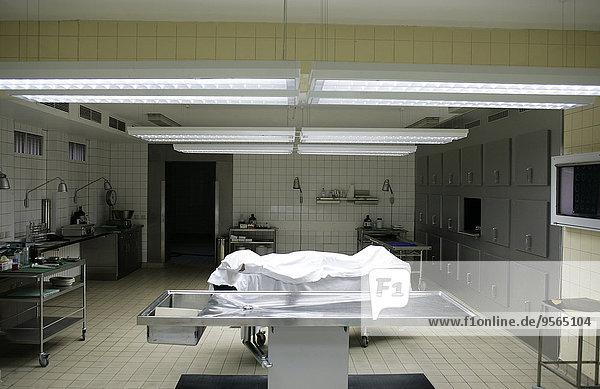 Feuerwehr,Krankenhaus,Pathologie