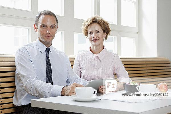 Kollege,Business,Mittagessen