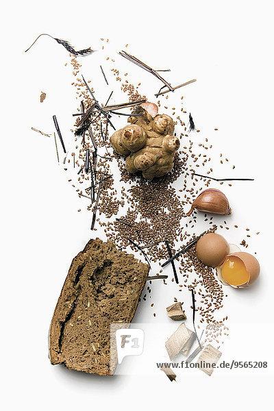 Lebensmittel,über,weiß,Vielfalt,Hintergrund,Zutat,Brotaufstrich