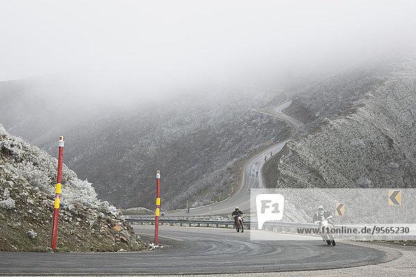 Berg,Fernverkehrsstraße,Nebel,Motorrad,Wetter