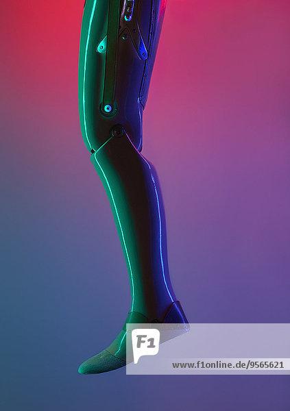 niedrig,Anschnitt,Farbaufnahme,Farbe,Hintergrund,Roboter