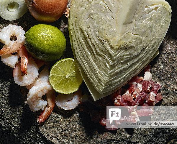 Felsbrocken,Gemüse,Close-up,Krabbe,Fleisch,aufgeschnitten