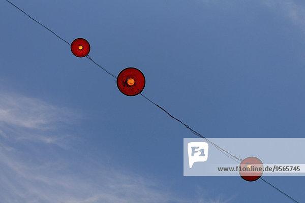 niedrig,Himmel,hängen,Lampe,blau,Ansicht,Flachwinkelansicht,Winkel