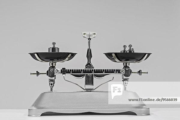 Waage - Messgerät,grau,Hantel,Hintergrund,Gewicht,altmodisch