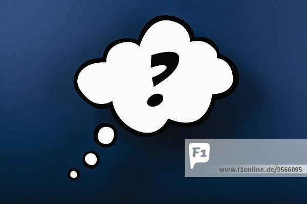 denken,fragen,Markierung,Blase,Blasen,Hintergrund,blau