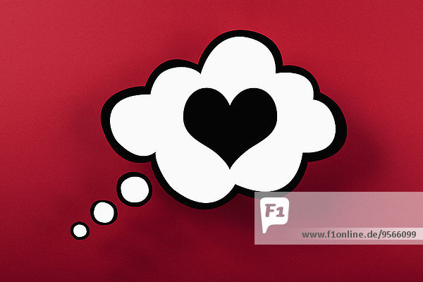 denken,Blase,Blasen,Hintergrund,rot,herzförmig,Herz