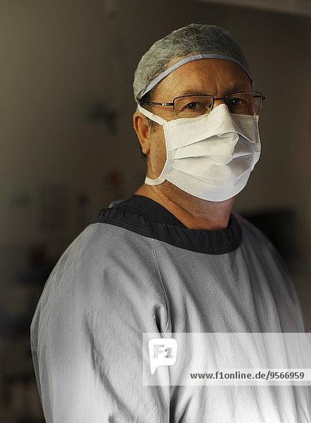 Portrait,Chirurg,reifer Erwachsene,reife Erwachsene,Theatergebäude,Theater,handhaben