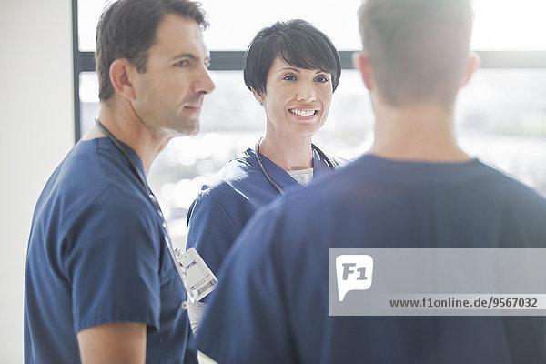 Teamwork,sprechen,Arzt,Krankenhaus