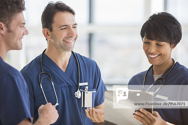 Teamwork,lachen,Arzt,Krankenhaus