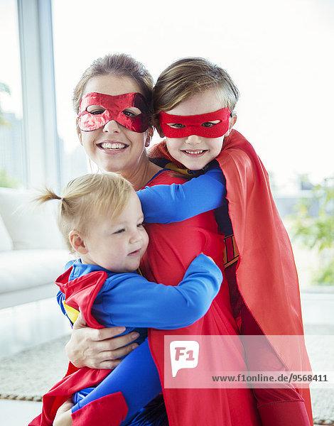 umarmen,Zimmer,Superheld,Wohnzimmer,Mutter - Mensch