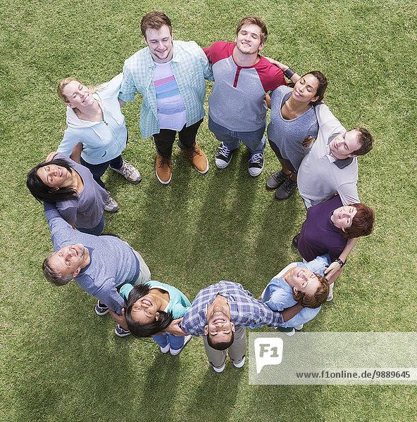 Teamwork,sonnenbaden,sonnen,Verbindung,Feld,Kreis,Form,Formen,Sonnenlicht