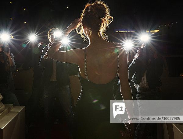 Silhouette,Wahrzeichen,fotografieren,Paparazzo