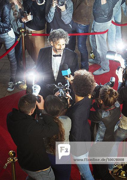 Fest,festlich,Interview,Wahrzeichen,fotografieren,Paparazzo