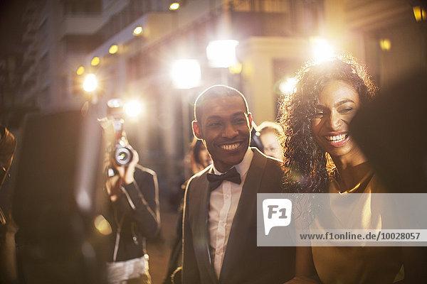 Fest,festlich,lächeln,Wahrzeichen,fotografieren,Paparazzo