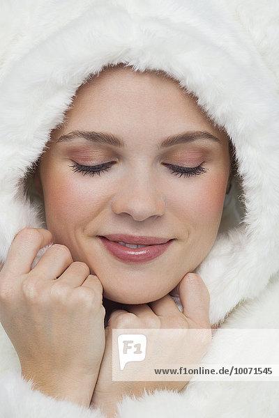 Frau,Schönheit,lächeln,Close-up,close-ups,close up,close ups