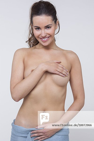 Frau,Pose,nackt