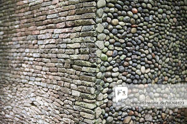 Steinmauer,schießen,voll