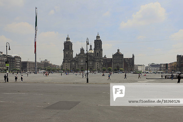 Stadt,Kathedrale,Quadrat,Quadrate,quadratisch,quadratisches,quadratischer,Plaza de la Constitución - Mexiko-Stadt