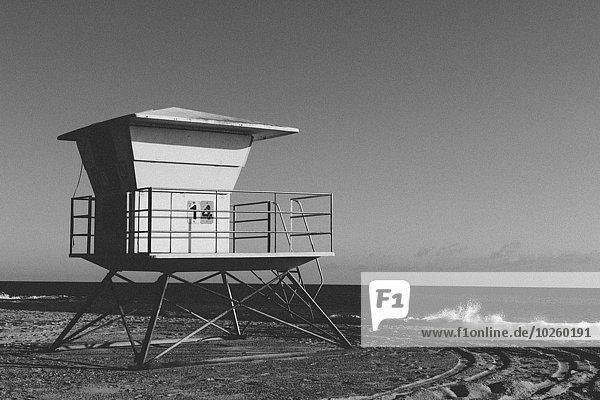 durchsichtig,transparent,transparente,transparentes,Hütte,Strand,Himmel,Rettungsschwimmer