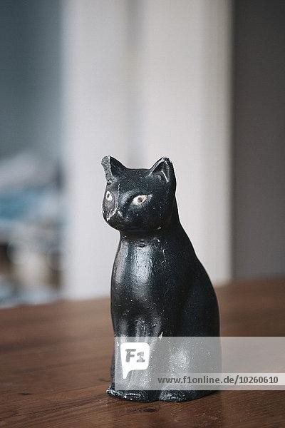 schwarz,Statue,Tisch,Bronze