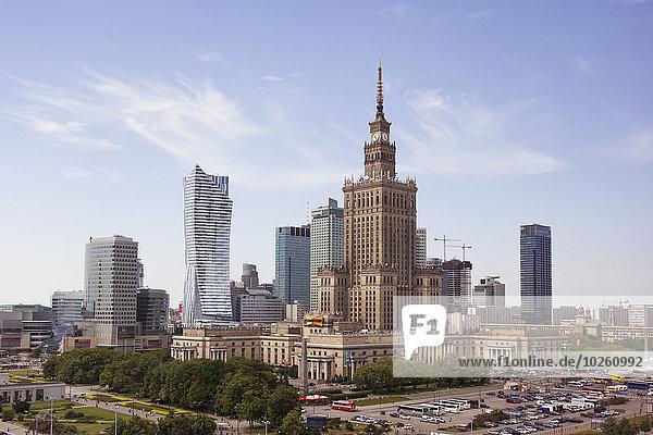 Warschau,Hauptstadt,Palast,Schloß,Schlösser,Kultur,Wissenschaft