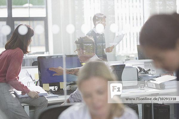 Computer,Mensch,Büro,Menschen,arbeiten,Business