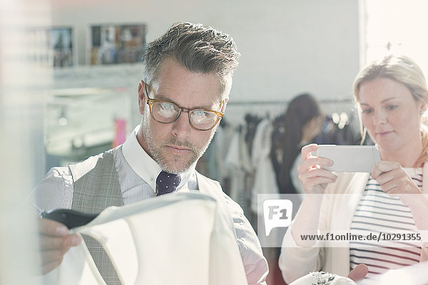 Kleidung,Designer,fotografieren,Fotohandy,Mode