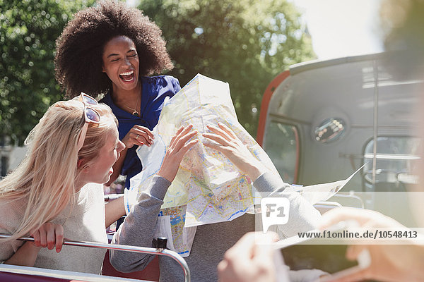 Freundschaft,Spiel,Landkarte,Karte,Omnibus,Doppelstockwagen