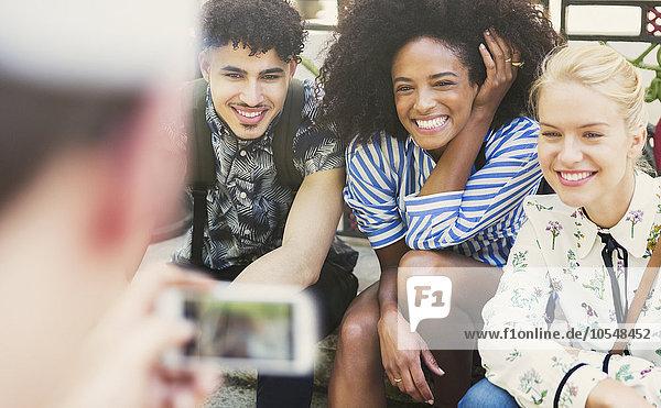 Freundschaft,Begeisterung,fotografieren