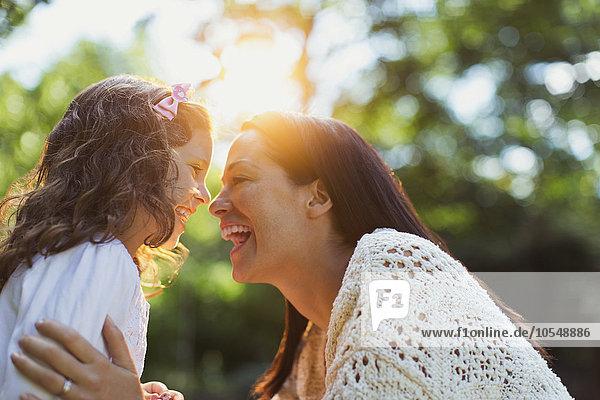 Begeisterung,lächeln,Tochter,Mutter - Mensch