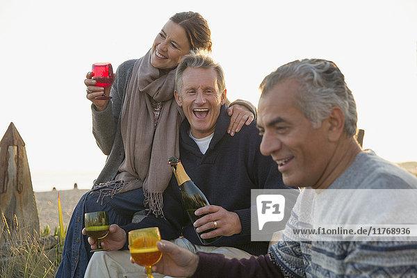 Alkohol,angelehnt,Asiate,Außenaufnahme,Begeisterung,berühren