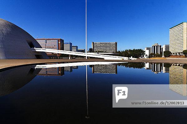 Museu Nacional Honestino Guimaraes, Brasilia, Distrito Federal do Brasil, Brasilien, Südamerika, Amerika