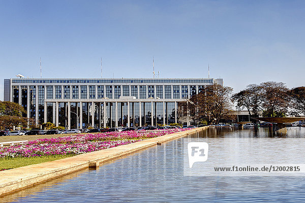 Palacio do Buriti, Brasilia, Distrito Federal do Brasil, Brasilien, Südamerika, Amerika