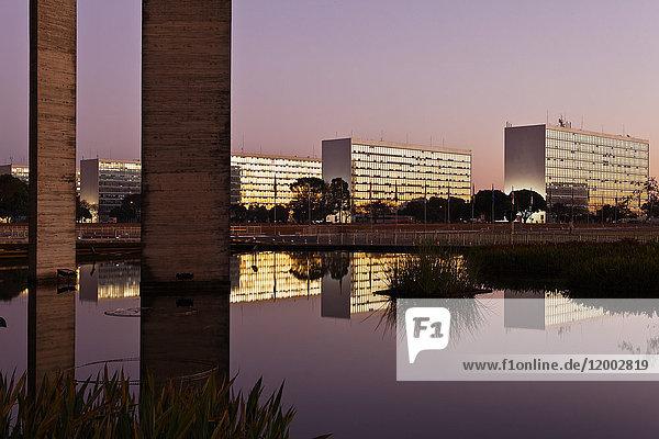 Esplanada dos Ministerios, Brasilia, Distrito Federal do Brasil, Brasilien, Südamerika, Amerika