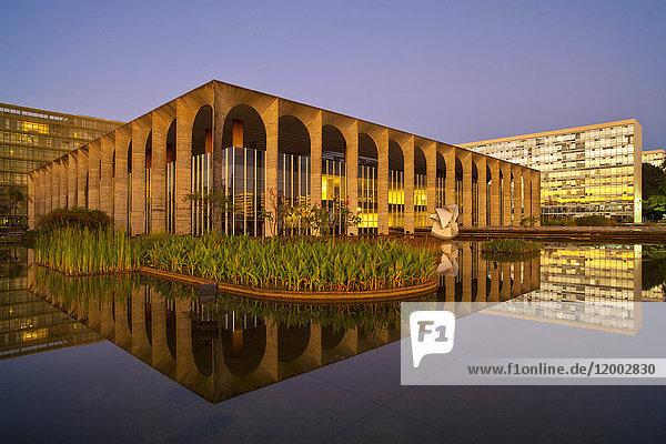 Palacio Itamaraty, Brasilia, Distrito Federal do Brasil, Brasilien, Südamerika, Amerika