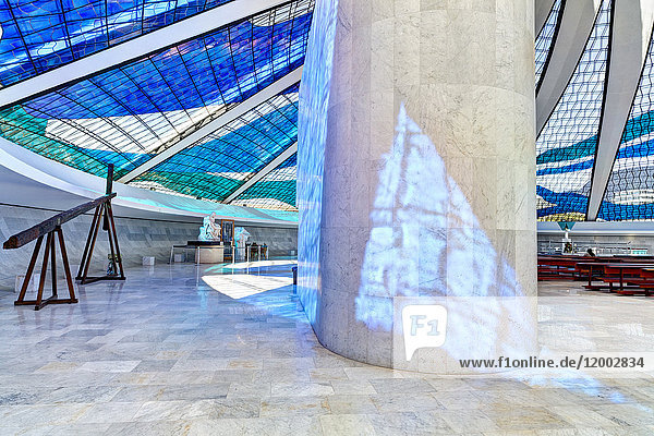 Kathedrale, Brasilia, Distrito Federal do Brasi, Brasilien, Südamerika, Amerika