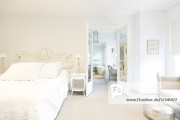Abwesenheit,Bett,Eingang,Eleganz,Farbe,Fotografie