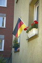 Blume,Fahne,deutsch