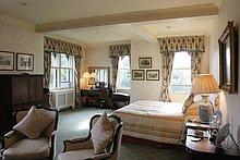 Innere der Schlafzimmer, Ashford Castle, Irland