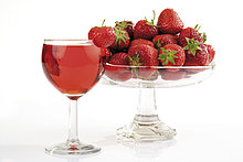 Wein,Erdbeere