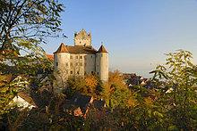 Meersburg - historische Burg - Baden-Württemberg, Deutschland, Europa.