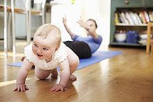 Yoga ,Baby