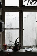 Ein Küchenfenster