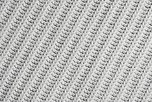 Nahaufnahme des Stoffes crochet