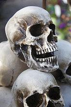 Gestapelte skulls