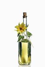 Sonnenblumenöl in Flasche